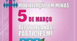 Republicanas de todo o Brasil estarão se mobilizando, participem!