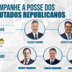 PRB transmite ao vivo posse dos Deputados eleitos